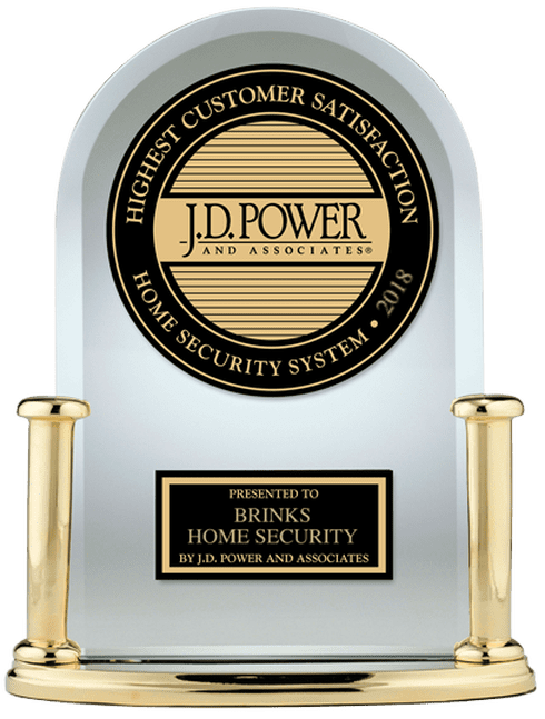 #1 in customer satisfaction with home security systems in 2018