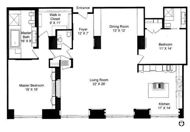 800 Michigan Avenue, CHICAGO, Illinois 60611, 2 Bedrooms Bedrooms, 5 Rooms Rooms,2 BathroomsBathrooms,Condo,For Sale,Michigan,10419439