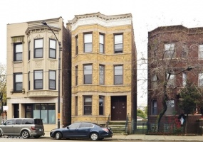 2605-07 Chicago Avenue, Chicago, Illinois 60622, 6 Bedrooms Bedrooms, 9 Rooms Rooms,Two To Four Units,For Sale,Chicago,10488189