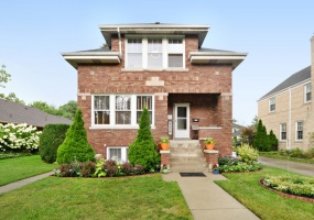6258 Leona Avenue, Chicago, Illinois 60646, 4 Bedrooms Bedrooms, 10 Rooms Rooms,Two To Four Units,For Sale,Leona,10539035