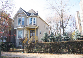 1634 HUMBOLDT Boulevard, Chicago, Illinois 60647, 5 Bedrooms Bedrooms, 7 Rooms Rooms,Two To Four Units,For Sale,HUMBOLDT,10585595